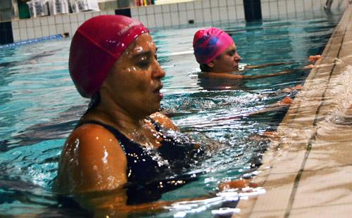 corso di nuoto per terrorizzati