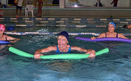 corso piscina adulti acquafitness