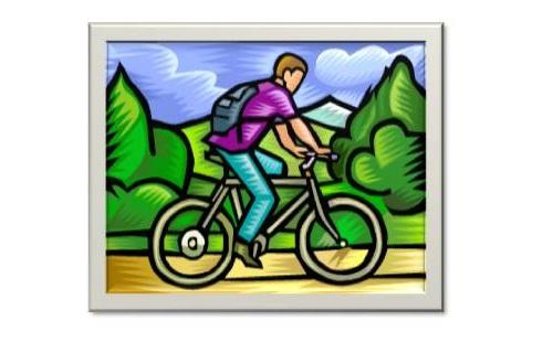 Biciclettata Cartellino