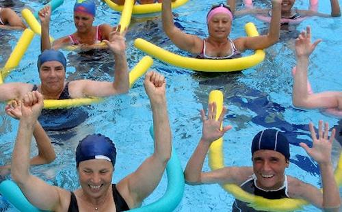 ginnastica in acqua sogese rtb